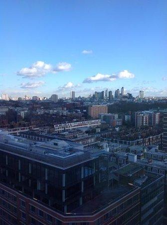 Pullman London St Pancras Hotel : il panorama