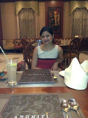 Indana Palace Jodhpur : Dinner at Anghiti