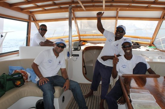 Royal Big Game Fishing Mauritius: very nice crew