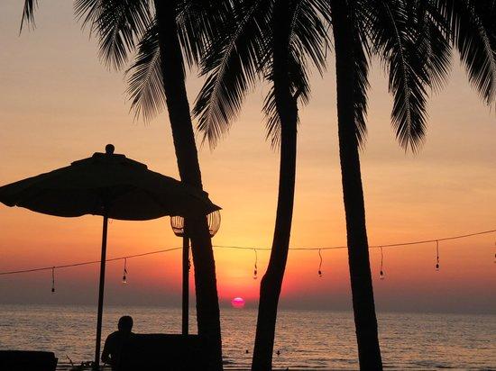 Banpu Koh Chang Resort: Solnedgang