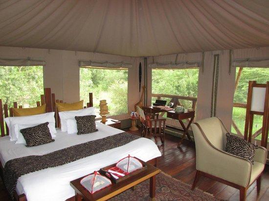 Neptune Mara Rianta Luxury Camp: Schlafbereich