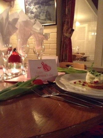 The Woolpack: valentines evening