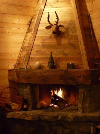 Alpine Highs Chalet Joran : Good fire.