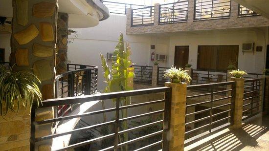 Balaibinda Lodge: view on thr 2nd floor