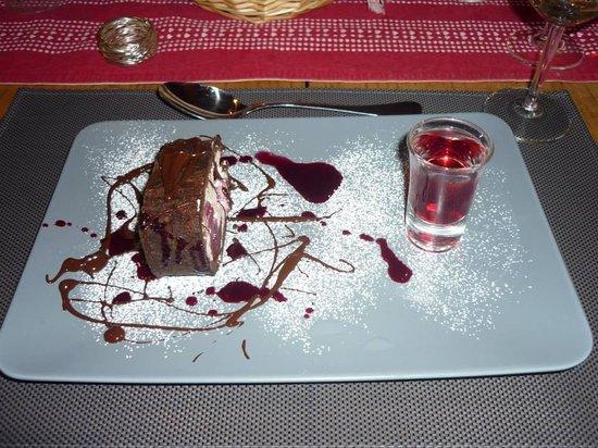 Alpine Highs Chalet Joran: A dessert e.g.