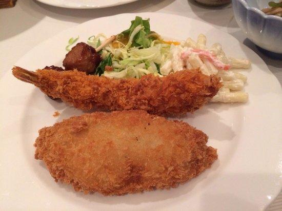 Ryuo Prince Hotel: 晚餐的天ふら