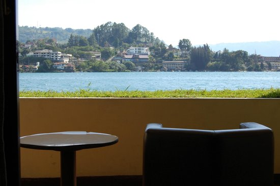 Quality Hotel Siantar Parapat : from our balcony