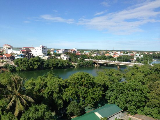 Vina Hotel Hue: View from room