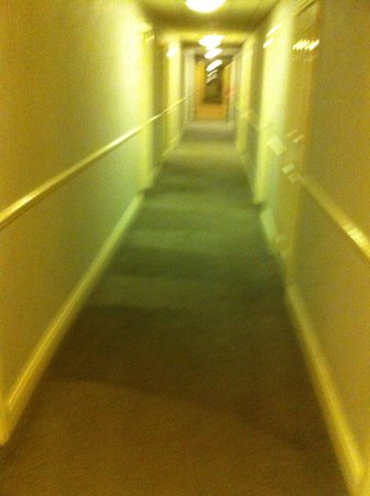 Hillgrove Hotel, Leisure & Spa : Second floor carpet....filthy