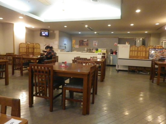 Sukatto Land Kuzuryu: 1階のレストラン