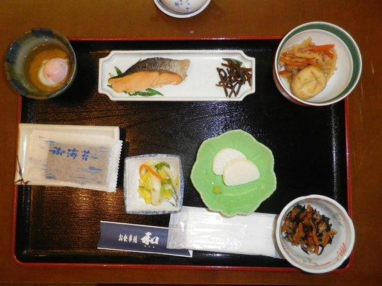 Sukatto Land Kuzuryu: 食べた朝食です