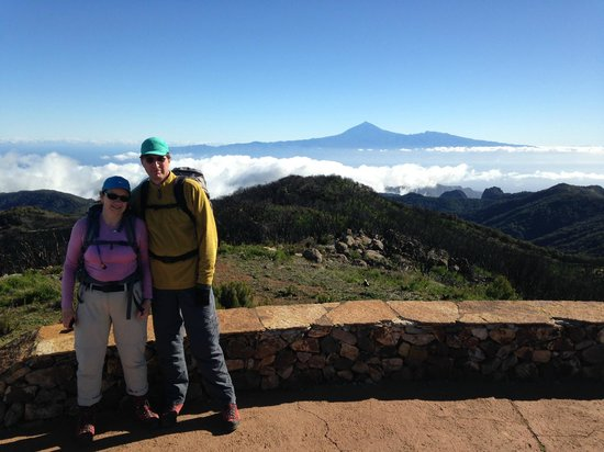 Garajonay Nationalpark: From Garajonay to Teide