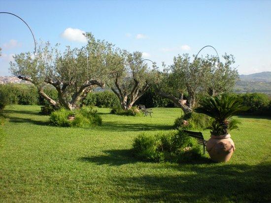 Foresteria Baglio Della Luna: Il giardino