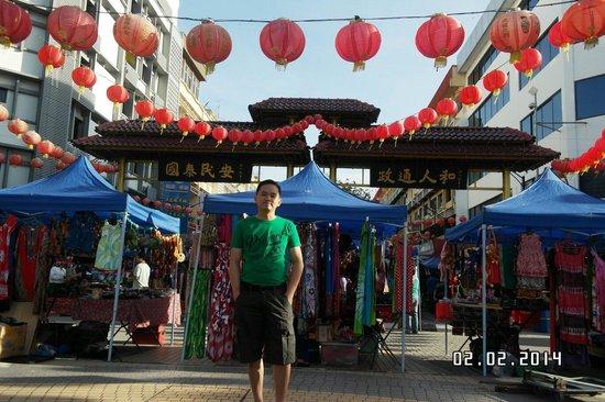 Gaya Street Sunday Market: Chinese new year at gaya street