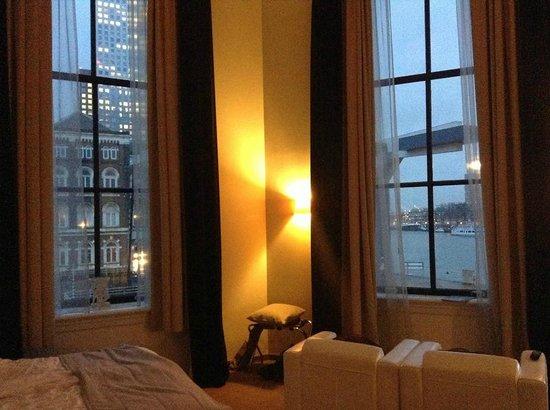 Suite Hotel Pincoffs: Uitzicht vanuit onze kamer