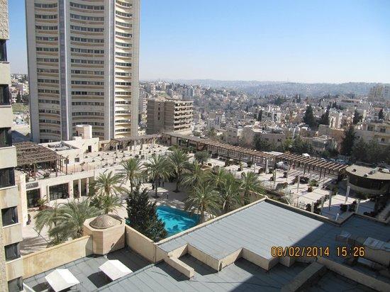 InterContinental Amman : View from 7th Floor