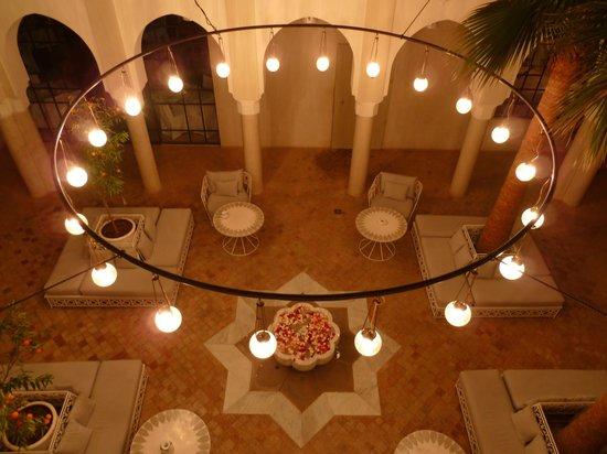 Riad Nashira & Spa: Innenhof