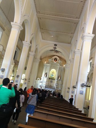 St. Dominic's Church: The hall