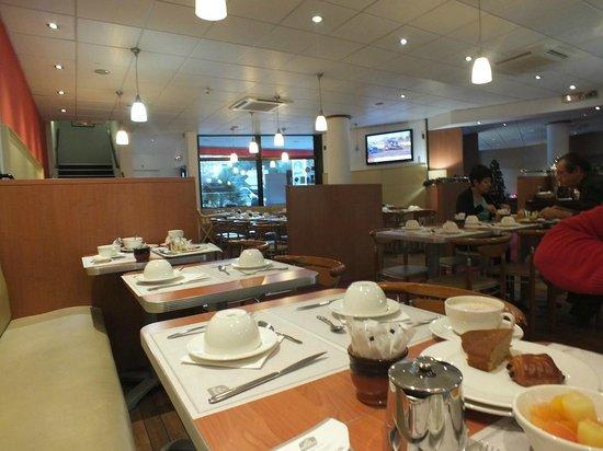BEST WESTERN Corsica Hotel Bastia Centre: sala colazione