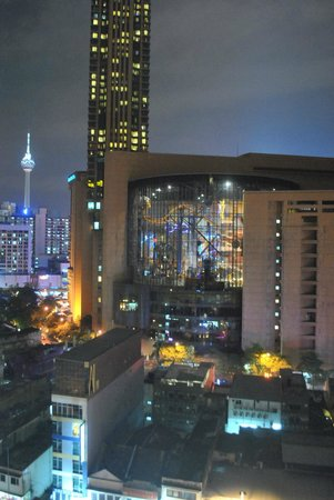 Furama Bukit Bintang: view from our room