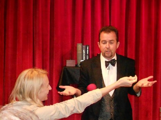 Warren & Annabelle's Magic: John George had us in stitches and amazed