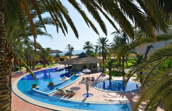 Marhaba Club Hotel : sea &pool view