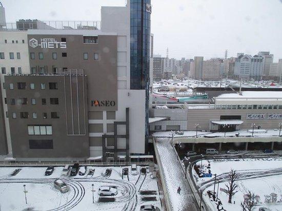 Hotel R-Mets Utsunomiya : 外観&東北新幹線E5系とE6系