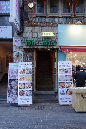 Pane Pasta : On the 2nd floor