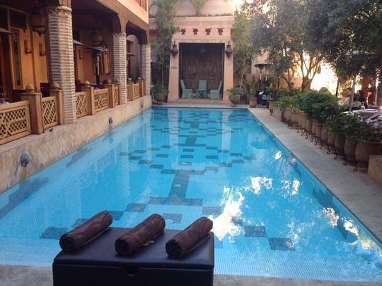La Maison Arabe: Beautiful Pool Area