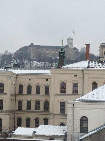 Hotel Cubo: Vista dalla stanza