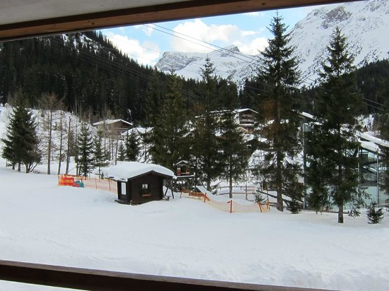 Der Berghof: View from our room