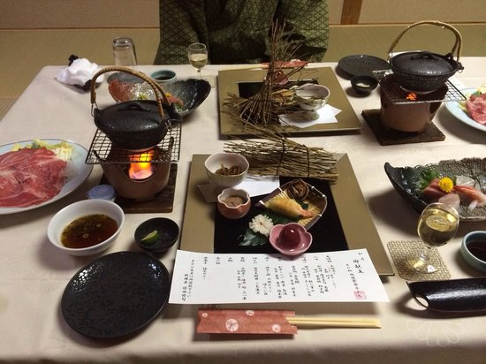 Atami Juraku Hotel: 夕食