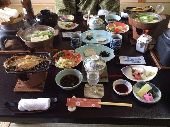 Atami Juraku Hotel: 朝食