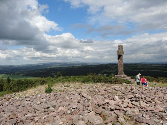 Fermoy, Ireland: Top of Corrin Hill