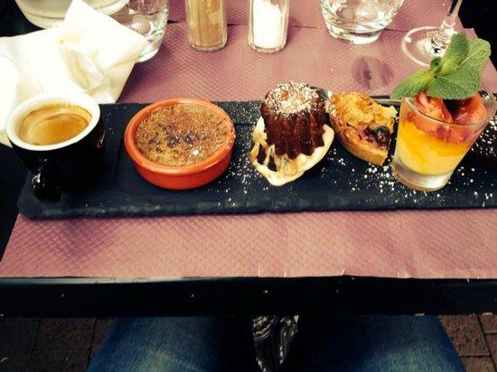 Brasserie des Dames : Le Café Gourmand est... GOURMAND !