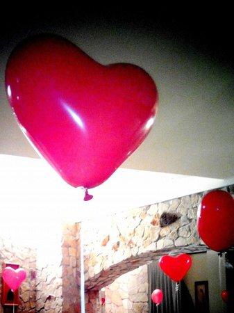 Casale Sombrino: cuori in amore....