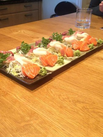 Hashi Cooking: sashimi