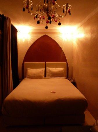 Riad Le Rubis: chambre Koutoubia