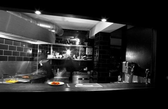 Ruben & Carla : The open kitchen