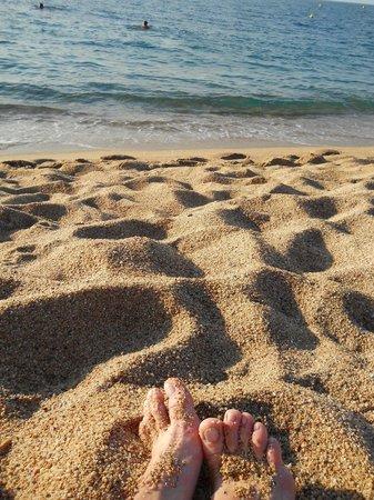 Hotel Riviera : пляж