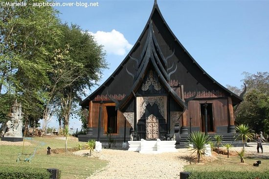 Maison noire - Baan Si Dum - Museo Baandum : Maison noire à Chiang Rai