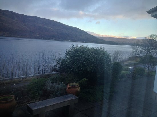 Morvich B&B : View from our room - it does not do it justice! (my camera is rubbish!)