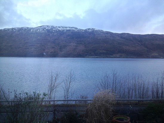 Morvich B&B : View from our room - over the Loch