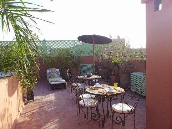 Riad Mariana : terrasse