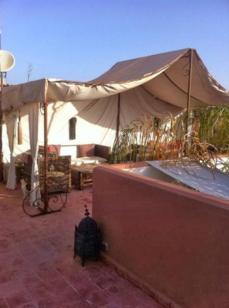 Riad Mariana: terrasse