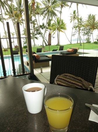 Castaways Resort & Spa Mission Beach: Great view at breakfast