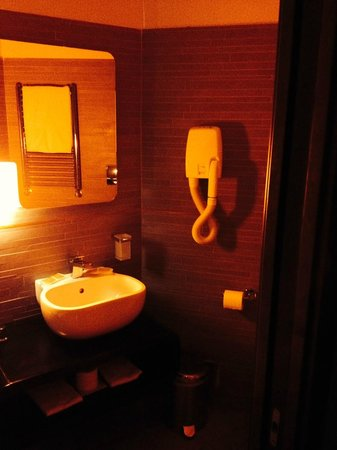Orange Hotel: bagno design