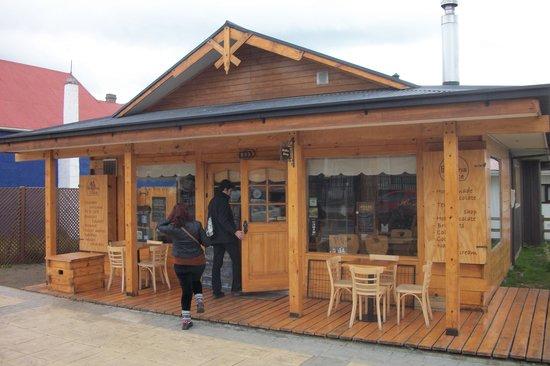 Chocolateria Patagonia Dulce: Puerto Natales, Chile - Patagônia Dulce - Fachada