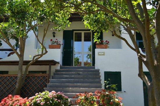 Villa Adriana: tutte le camere sono immerse nel verde