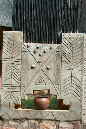 Mashovhela Bush Lodge : Venda Style Decor